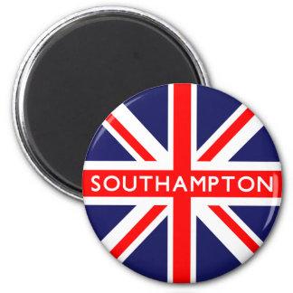 Southampton UK Flag 6 Cm Round Magnet