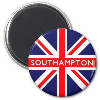 Southampton UK Flag Magnet