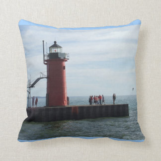 Southaven Michigan Lighthouse Pillow