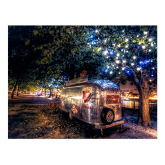 Southbank Food Truck, London Postcard