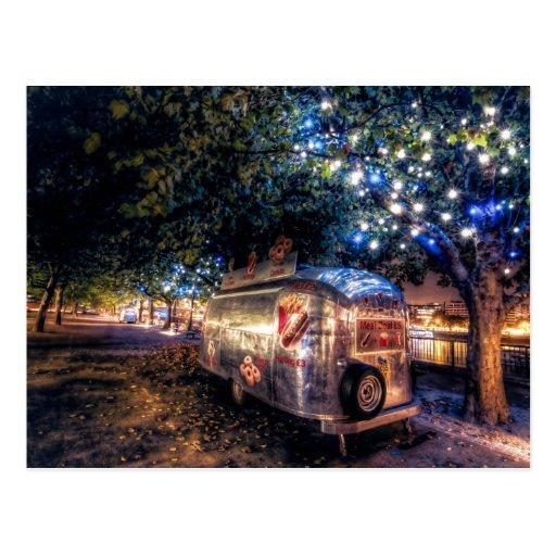 Southbank Food Truck, London Postcard