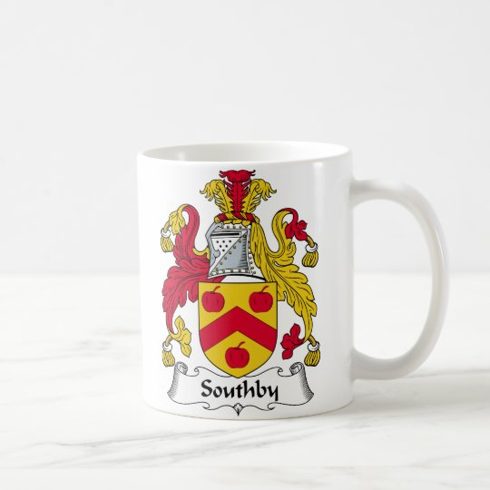 Southby Family Crest Coffee Mug
