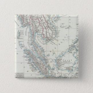 Southeast Asia 15 Cm Square Badge