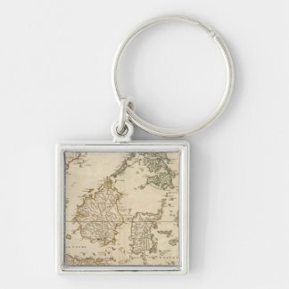 Southeast Asia 3 Key Ring