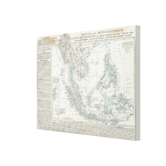 Southeast Asia Canvas Print