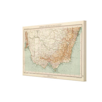 Southeast Australia by 168 Canvas Print