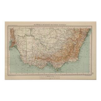 Southeast Australia by 168 Poster