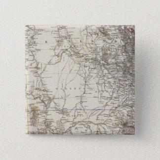 Southeast Australia Map 15 Cm Square Badge