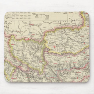 Southeast Europe, Romania, Turkey, Servia Mouse Mat