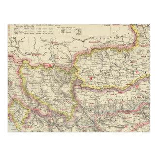 Southeast Europe, Romania, Turkey, Servia Postcard