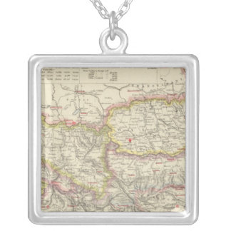 Southeast Europe, Romania, Turkey, Servia Silver Plated Necklace
