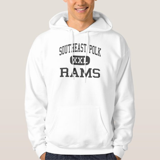 Southeast Polk - Rams - High - Runnells Iowa Hoodie