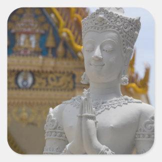 Southeast Thailand, Ko Samui aka Koh Samui). Square Sticker