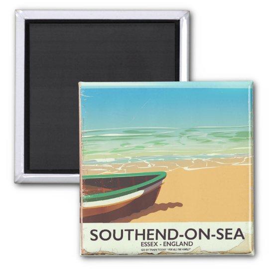 Southend-on-Sea, Essex Vintage travel poster Magnet