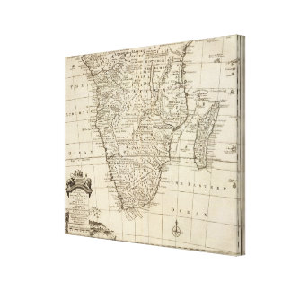 Southern Africa 4 Canvas Print