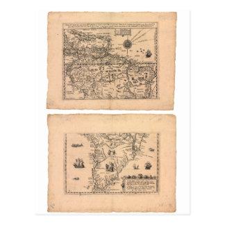 Southern America (1602) Postcard