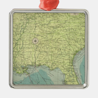 Southern American Atlantic ports Christmas Ornament