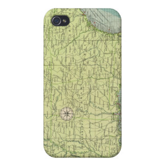 Southern American Atlantic ports Cover For iPhone 4