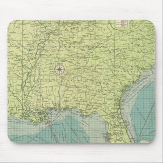 Southern American Atlantic ports Mouse Mat