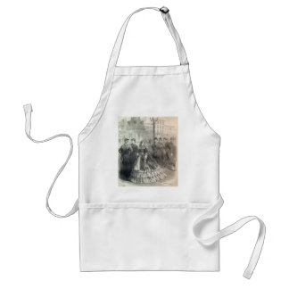 Southern belle 1861 aprons