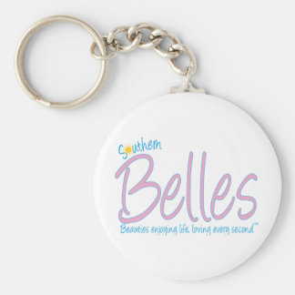 Southern Belles - Beauties Enjoying Life, Loving E Key Ring