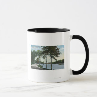Southern Blvd View of Central Park and Lake Mug