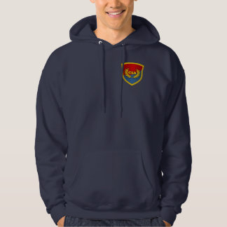 Southern By The Grace Of God (Red & Blue) Hoodie
