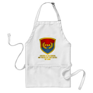 Southern By The Grace Of God (Red & Blue) Standard Apron