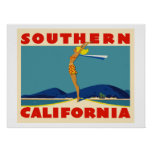 Southern California Affiche