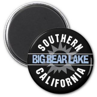 Southern California - Big Bear Lake 6 Cm Round Magnet