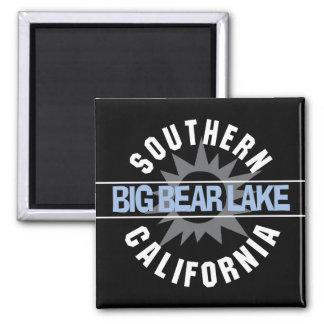 Southern California - Big Bear Lake Square Magnet