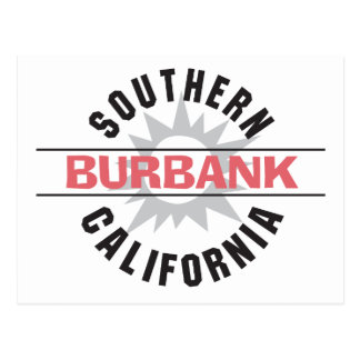 Southern California - Burbank Postcard