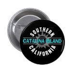 Southern California - Catalina Island 6 Cm Round Badge