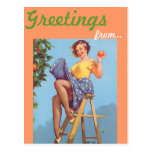 Southern California Greetings postcard