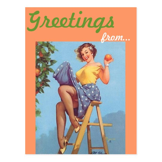 Southern California Greetings postcard