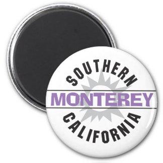 Southern California - Monterey 6 Cm Round Magnet