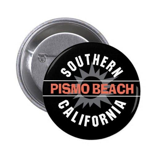 Southern California - Pismo Beach 6 Cm Round Badge