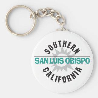 Southern California - San Luis Obispo Basic Round Button Key Ring