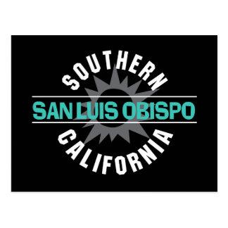Southern California - San Luis Obispo Post Card