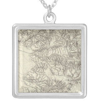 Southern California Silver Plated Necklace