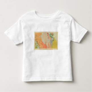Southern Central Colorado and Part of New Mexico Toddler T-Shirt