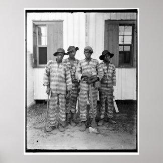 Southern chain gang 1900-1906 print