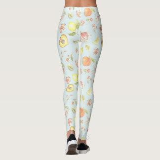 Southern Charm Floral Pattern Leggings