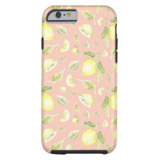 Southern Charm Lemon Pattern Phone Case
