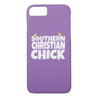 Southern Christian Chick iPhone 7 Case