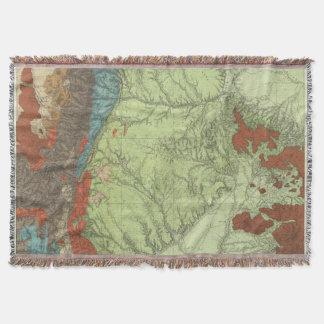Southern Colorado 2 Throw Blanket