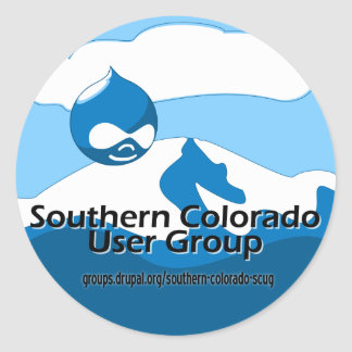 Southern Colorado User Group Classic Round Sticker