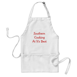 Southern Cooking At It's Best Standard Apron