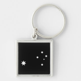 Southern Cross and Commonwealth Star Key Ring