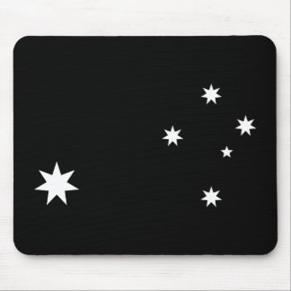 Southern Cross and Commonwealth Star Mouse Mat